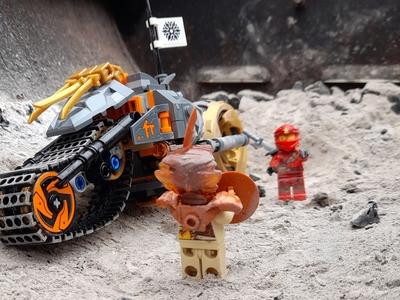 LEGO ninjago cole s dirt bike