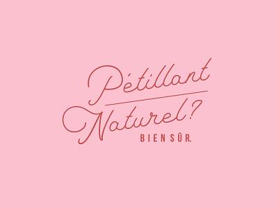 pet nat winery wine indesign design typography flat minimal logo branding