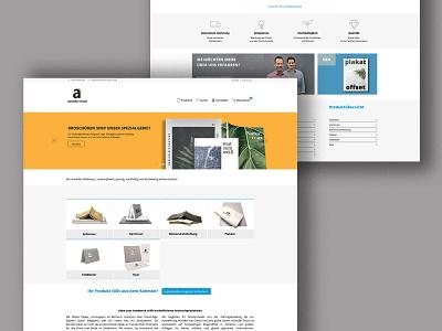 landing page user interface white background whitespace landingpage web online shop branding flat minimal webdesign