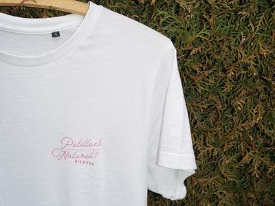 T-Shirt in the Wild wine vector logo typography t-shirt design flat design minimal