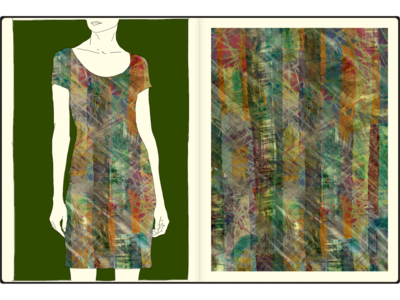 28 hireme fosale allover textile pattern design pattern art fashion print illustration