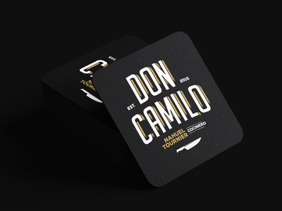 Don Camilo / Brand Design and Art Direction brand design brand identity typography design logo branding