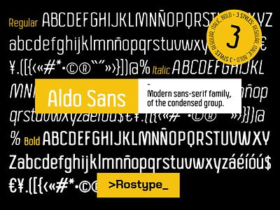Aldo San / Free Font sans serif font sans serif sans-serif sanserif typo typography freebies freebie free font design type art type design font awesome font family fonts typeface typedesign type