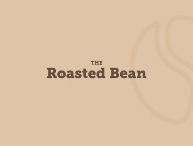 the roasted bean logo design coffee logo coffee bean coffeeshop madebytawanda logo icon design daily logo challenge minimalism