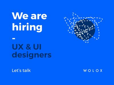We're hiring! jobs hiring job graphic design animation ux ui design