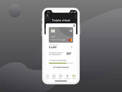 Wallet app - Baking app wallet mockup finance fintech banking user interface user experience mobile branding ui ux graphic design design