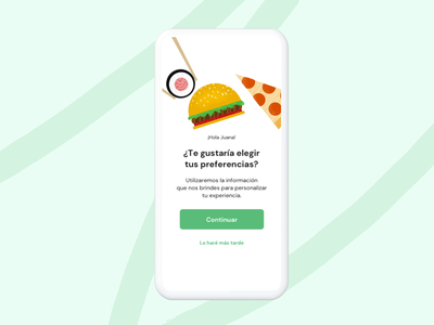 Onboarding - Bukme interface user experience restaurant food ae after effects animation mobile ux ui graphic design design