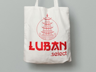 Luban.select packaging design design branding logo illustration