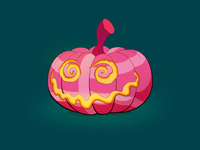 Dribbble-o'-lantern