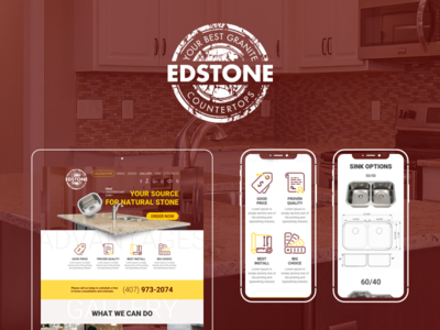 Your Source for Natural Stone uxui web-design
