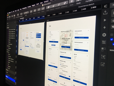 UI in progress web design ui pixsellz