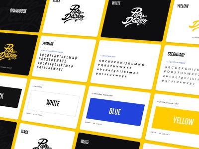 Papedesign branding color palette typography vector shape type idenity fonts colors process logo branding design