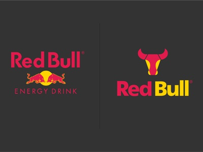 Red Bull Logo Re-Design