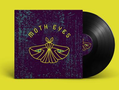 moth eyes mockup brand identity logo design logos logo graphic design