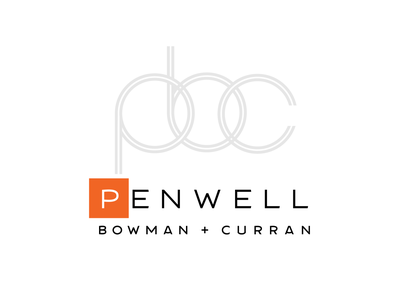 Penwell Bowman & Curran branding and identity logos logo logodesign graphicdesign branding
