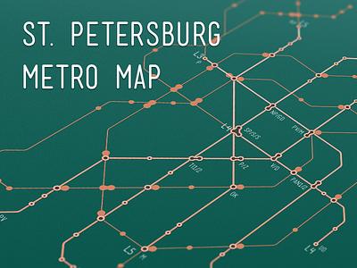 Circuit Board Metro Map poster plan scheme circuit board map underground subway metro
