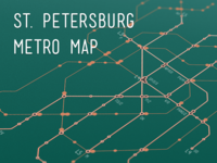 Circuit Board Metro Map