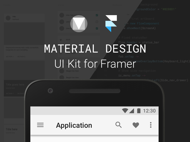 UI Kit for Framer