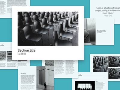 001. Light minimalistic presentation template freebie light theme material design slides presentation design presentation presentation template figma community figmadesign figma