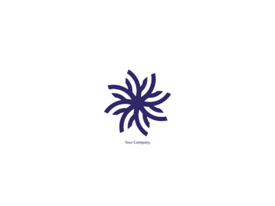 Logo Design community nature minimal illustrator design business flower logo