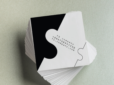 business card minimal creative logos logo illustration company letter card business