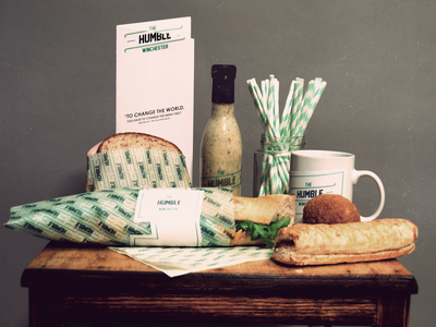 The Humble Winchester winchester identity humble branding food the was sandwich traditional