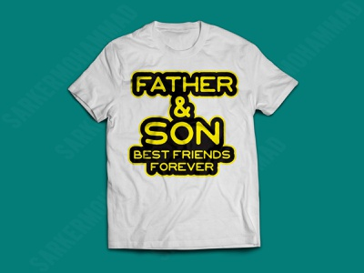FATHER SON BEST FEIRNDS FOREVER dad typogrephy tshirt tshirt design dad tshirt typography print design graphicdesign tshirts
