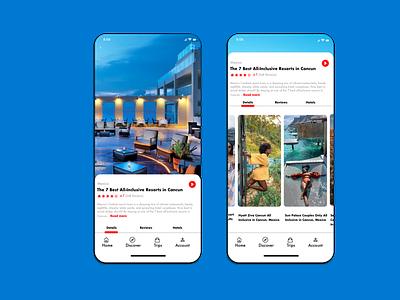 Passport Heavy App Design prototype wireframe android app design ios app design ux design ui design product design mobile app design traveling
