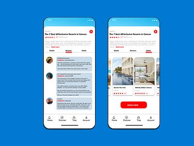 Passport Heavy App Design ux design ui design traveling prototype mobile app design ios app design android app design product design