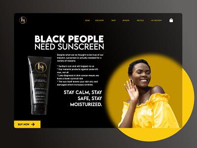 Black Girls Screen design web design ux design branding product design