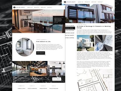 Architecture Studio Website Redesign Project Plan Series Part 1 ui design ux design web design product design