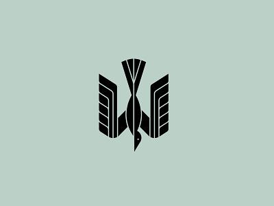 Bird fly modern symbol mark animal bird illustration branding logo