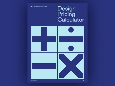 Design Pricing Calculator how to rate pricing illustration business class calculator design tool tool course branding typography logo