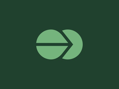 Kaizen poster symbol logo mark tech app feedback geometric lockup badge modern illustration branding typography logo