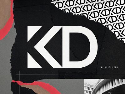 Keller Development branding and identity identity lettering development pattern illustration branding typography logo