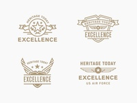 "Air Force ""Excellence"" Badges"