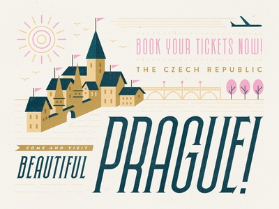 NEW Skyward Font illustration font poster typography building condensed vintage travel prague texture typeface europe