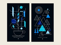 Fairisle Coffee Poster Series