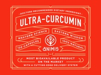 Animis Supplement Label