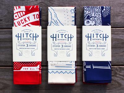 Hitch Bandanas (3 Pack)