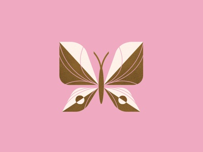 Butterfly wings peace fly geometric vintage illustration animal insect butterfly