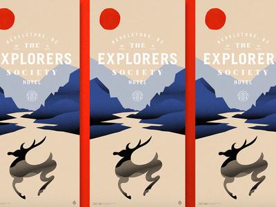 Explorer's Society Poster