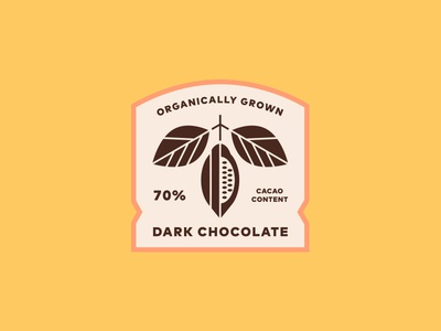 Dark Chocolate Label