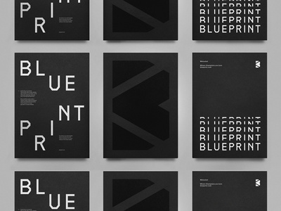 Blueprint part ii by steve wolf dribbble blueprint part ii malvernweather Gallery