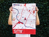 AWAY Austin Map