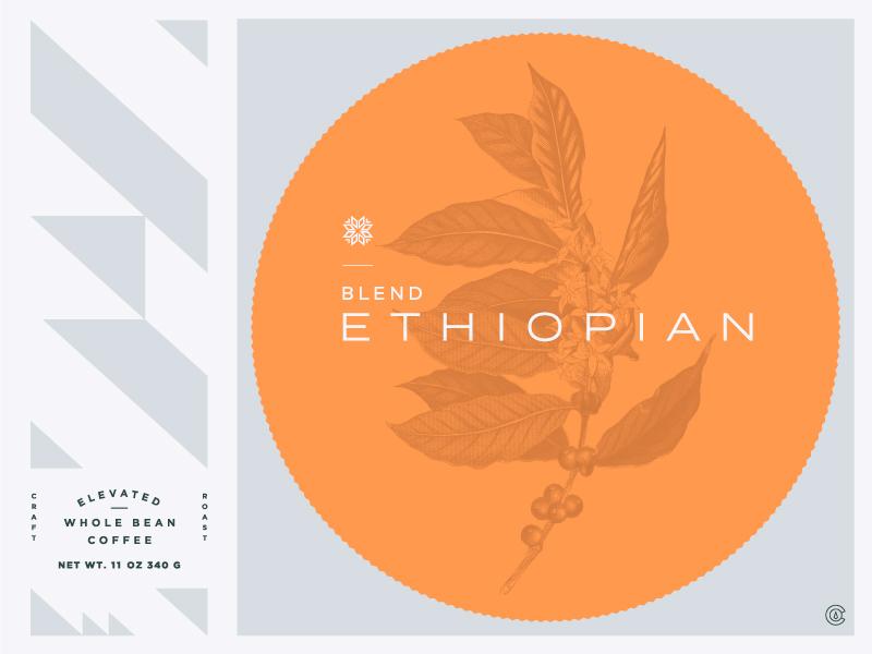 Coffee Flavor Profile Card colorado drink branding logo badge typography illustration modern packaging flavor coffee