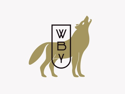 The Wolves Behind You III modern texture apparel typography badge lockup illustration logo wolf