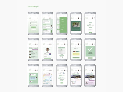 XPRT mobile screens logo chatbot calendar booking payment method home screen sign up ux ui healthcare mobile ui mobile app mobile mobile app design ux design ui design product design mobile design user experience user interface