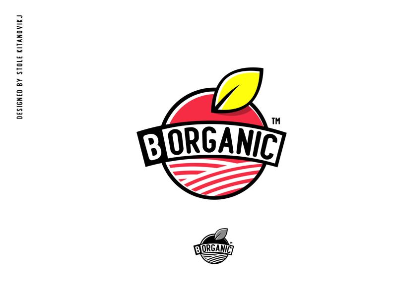 """B Organic"" Logo Design graphic design graphic flat b organic vector logo design branding"