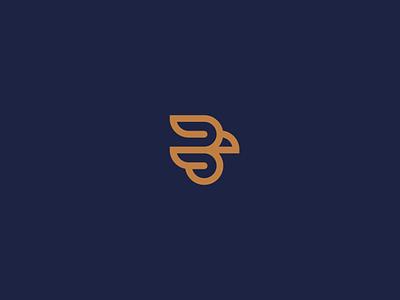 Baceti Falcoaria flat icon design vector identity branding logo design logo
